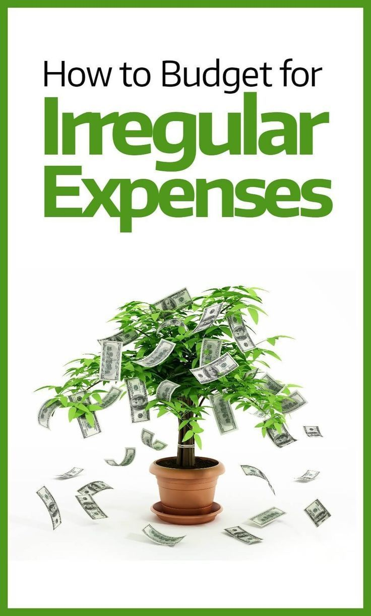 Trying to budget, but finding that there's always something that ruins your plans? It might just be your irregular expenses which are causing problems. Here's exactly how to control these expenses and make your budget work.