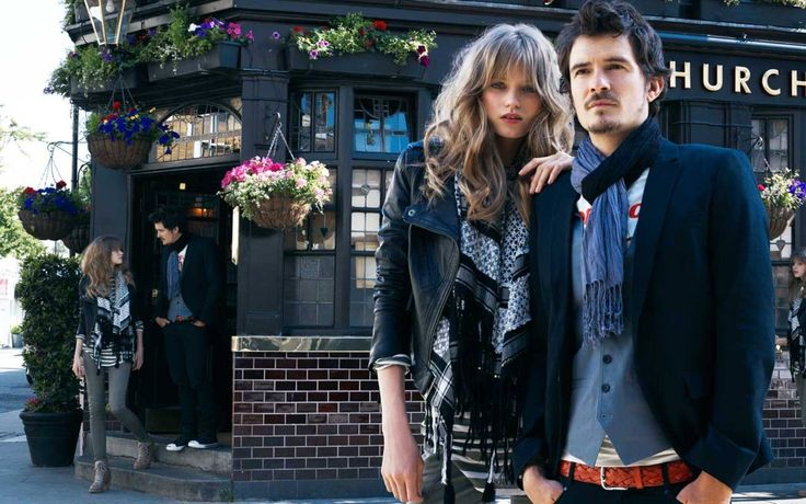 Рекламная компания 'Me & City' 2010-2011  Модели: Эбби Ли Кершоу (Abbey Lee Kershaw) и Орландо Блум (Orlando Bloom)  Фотограф: Эмма Саммертон (Emma Summerton)