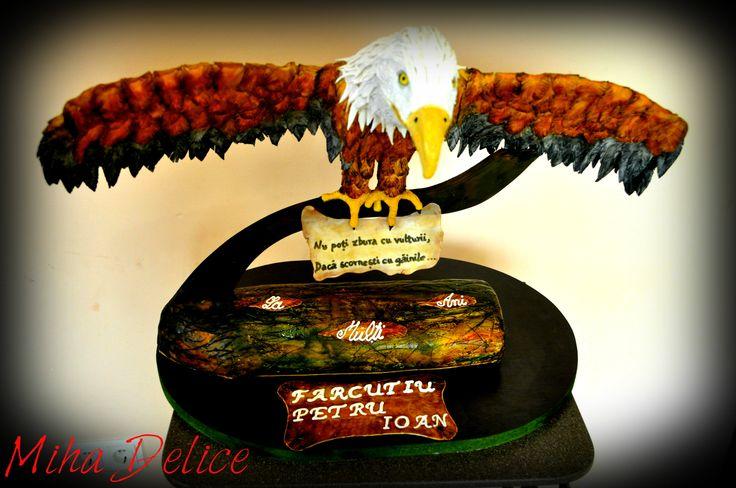 Eagle cake