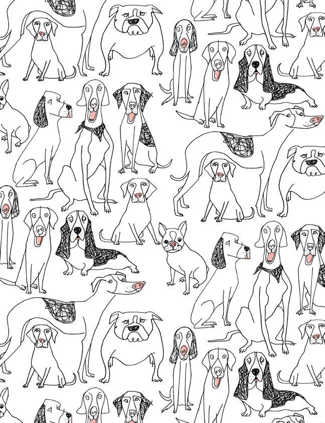 Doggie pattern Alanna Cavanagh 2013 #SURTEX