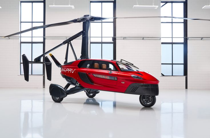 """Pal-V presents """"world's first"""" certified commercial flying car."""