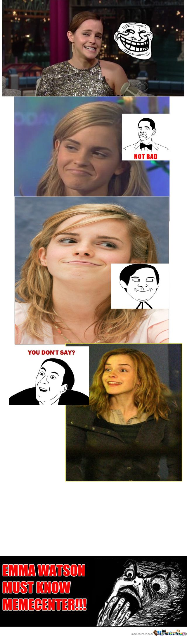 Hhahah she's awesome!