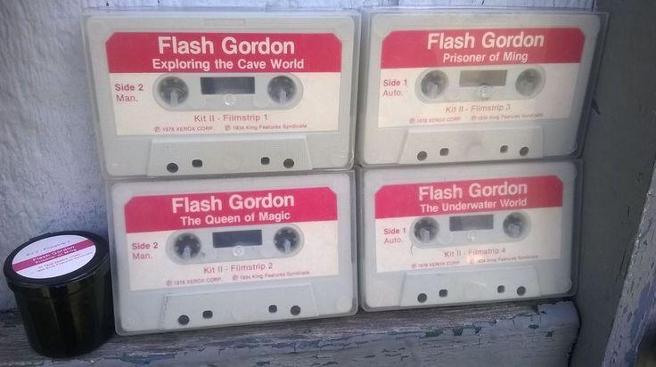 Flash gordon on cassette tape filmstrip 1978 king features