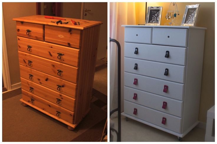 #DIY project #drawer. Before and after.