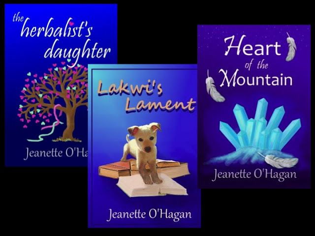 *: A Spinner of Tales: Jeanette O'Hagan.