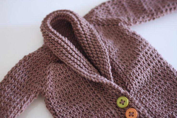 crochet newborn sweater for boys free pattern Baby Sweater Knitting Pattern...