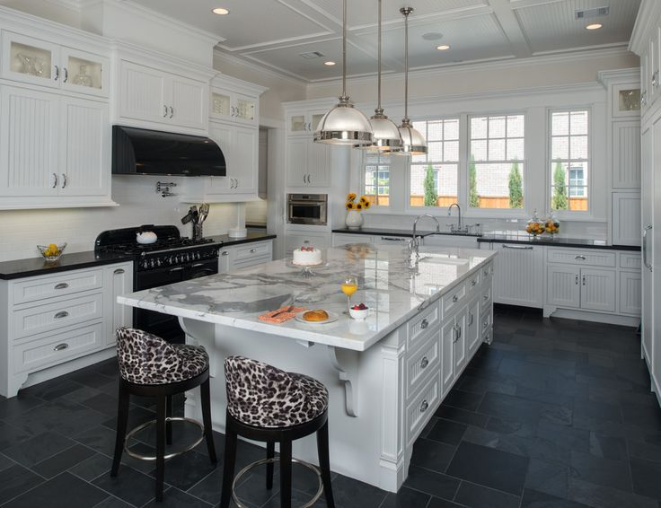Best 25+ Slate countertop ideas on Pinterest | Dark countertops, Dark  kitchen countertops and White kitchen cabinets