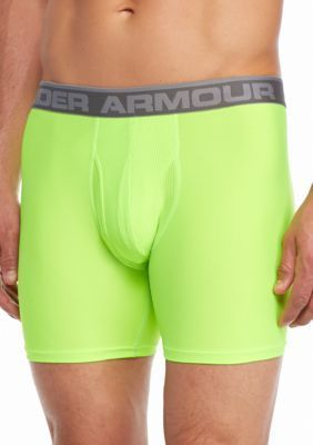 Under Armour Hyper GreenSteel The Original 6-in. BoxerJock Boxer Briefs