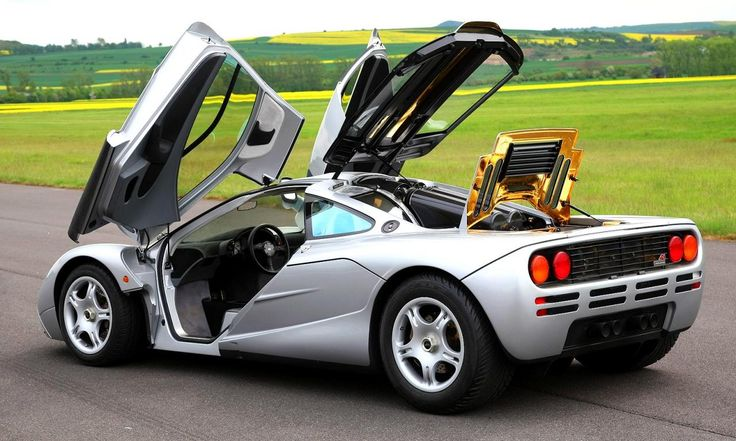 MClaren F-1 Can you say fast:^)