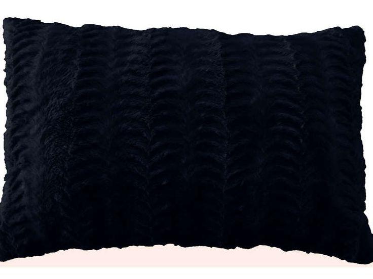 Coussin 40x60 cm BUNNY coloris noir - pas cher ? C'est sur Conforama.fr - large choix, prix discount et des offres exclusives Coussin et housse de coussin sur Conforama.fr