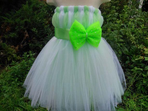 Wedding tutu dress – girl tutu dress – baby tutu dress – party tutu dress – birthday tutu dress – white and mint tutu dress – tutu dress