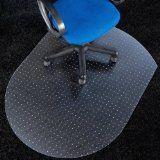 #6: Polycarbonat Bodenschutzmatte | transparent, oval | für Teppichböden - http://www.xn--brombel-profi-lmb0g.com/buerostuehle/6-polycarbonat-bodenschutzmatte-transparent-oval-fur-teppichboden