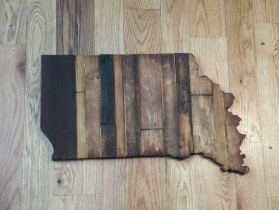 Indiana Rustic Wood State Cut Out, Wooden Indiana State Outline,Rustic Indiana,Large Indiana, Indiana Sign, Indiana   Art, Indiana Decor