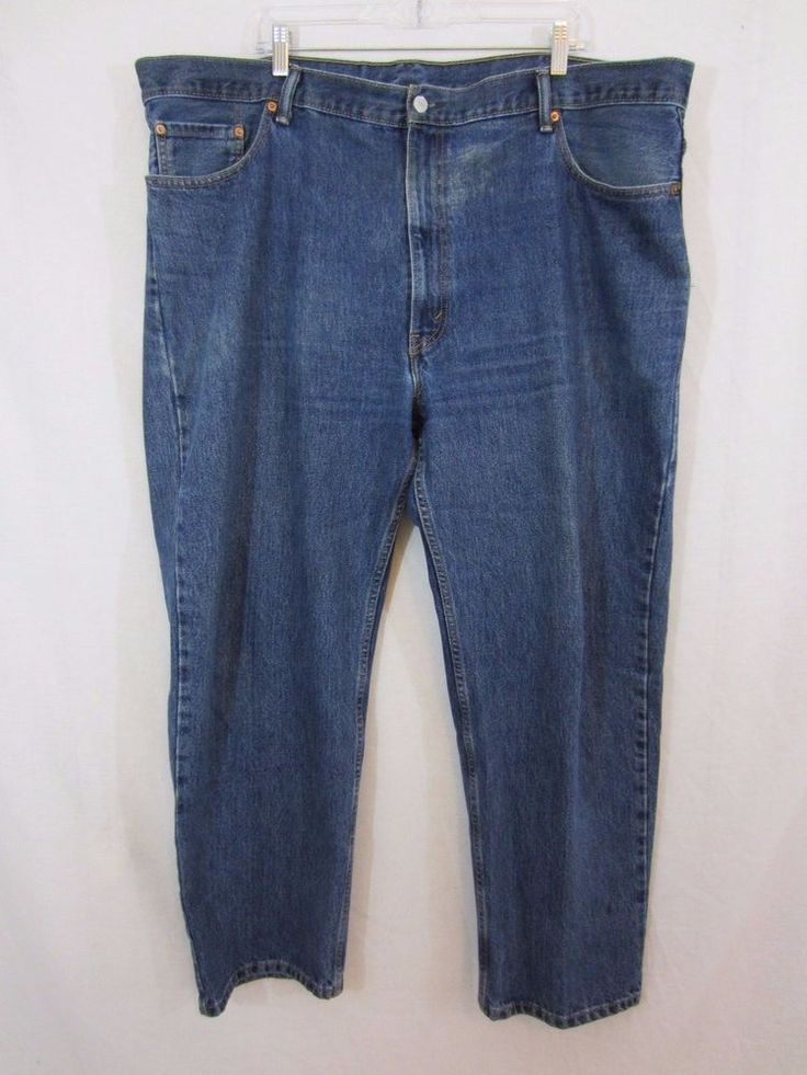 Men's LEVI's 550 Relaxed Fit Tapered Leg Denim Jeans Size 46 x 30 #Levis #Relaxed