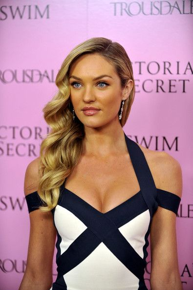 Candice Swanepoel Photos - 15th Anniversary Of Victoria's Secret SWIM Catalogue At Trousdale - Zimbio