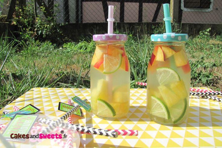 Detox Water Eau de Coco Fruits                                                                                                                                                                                 Plus