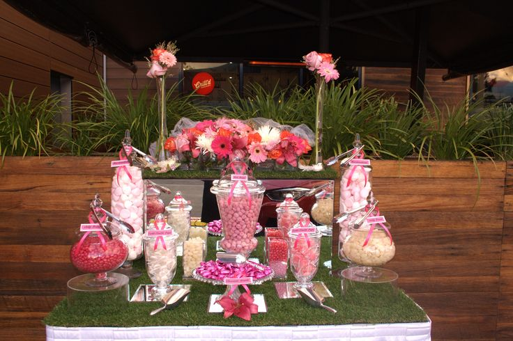 Spring candy buffet