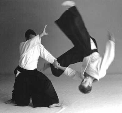 Aikido moves, verygood for your dancing skills