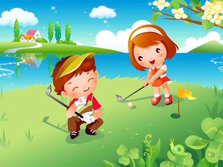 Картинки: дети играют