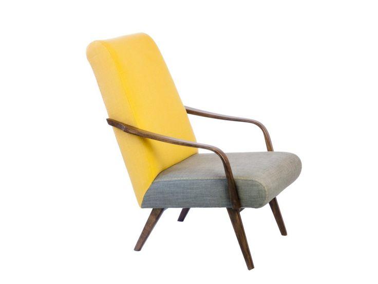 Kreslá z 50. - 60.rokov si zachovávajú rokmi overenú pohodlnosť a nový moderný dizajn im dávajú odvážne kombinácie rôznych farieb veľmi kvalitnej poťahovej látky. Tento materiál je vhodný aj pre náročné použitie s vysokou intenzitou namáhania (napr. verejné priestory, kaviarne)
