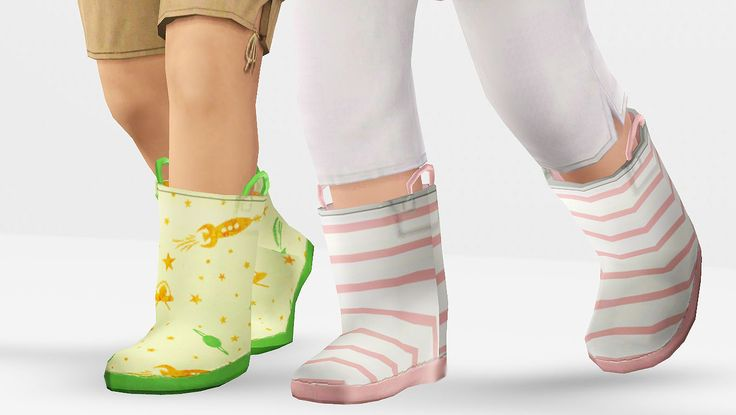 """""""Puddle Ducky Boots"""""""