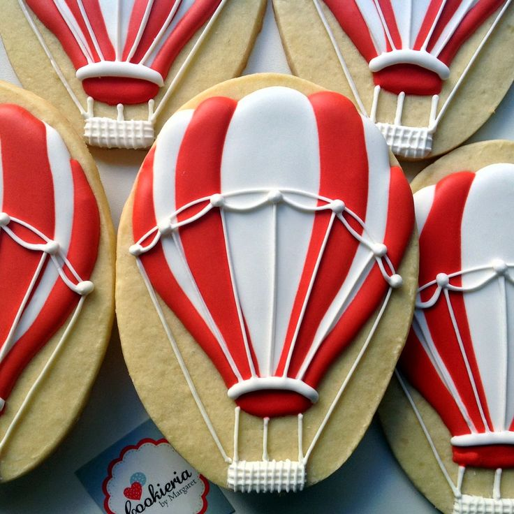 Cookieria By Margaret: Hot Air Balloons...Balões