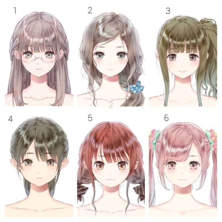 Cute Anime Hairstyles Drawing Anime Wallpapers