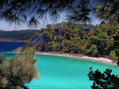 Went to Samos, Greece for the day and taxied to a beautiful beach!