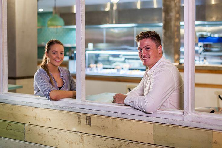 Six Fish, Modern Retro Fish n Chip Shop, Dining Area, Collegians Wollongong #decor #food