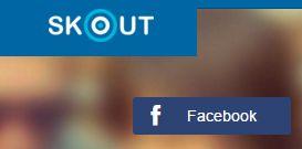 Registrarse en Skout con Facebook