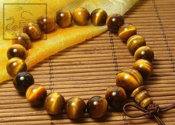 Fashion Consecration Tiger Eye Tibetan Wrist Malas Buddhist Prayer Beads Bracelet