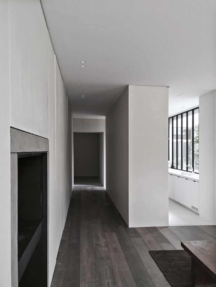 kitchen divides the corridor by Marc Merckx