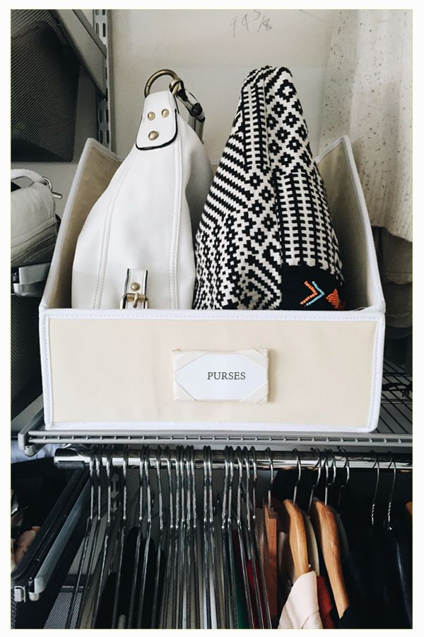 Use This Storage Staple To Organize Sweaters, Linens U0026 Purses With This  Pro Organizer Must Have Organizing Tool.