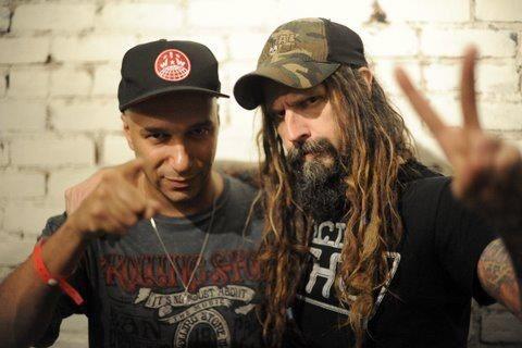 Rob Zombie y Tom Morello!!