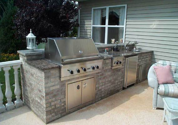 small outdoor kitchen design | Other Design and images gallery related to Small Outdoor Kitchen :