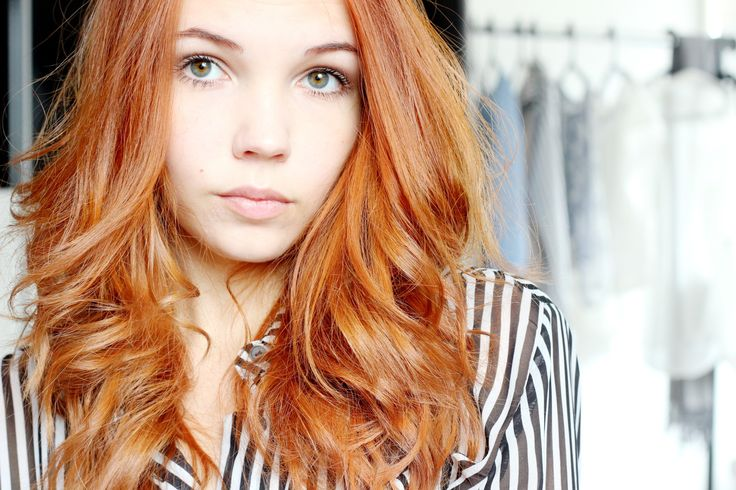 bezaubernde nana, fashionblog, beautyblog, deutschland, germany, haare, kupfer haare, rote haare, loreal preference glowing copper