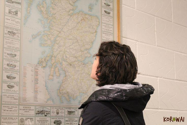 Il fascino delle mappe antiche - Tullibardine Distillery