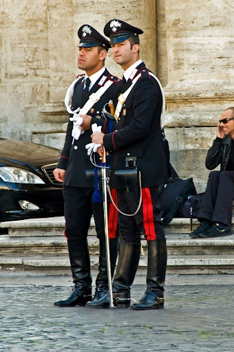 carabinieri, Italy  (The best looking policemen and women in the world!)