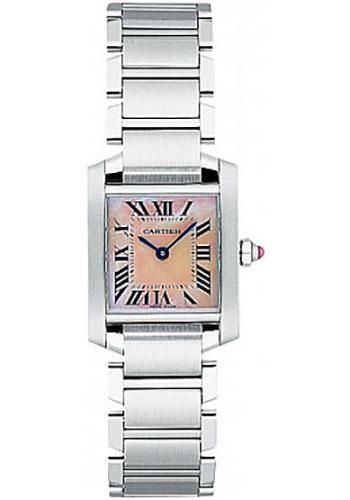 Cartier Tank Francaise Small - Stainless Steel Watch W51028Q3