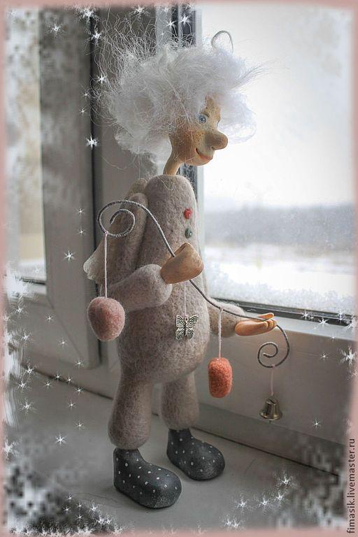Купить Сердечный ангел - ангел, ангелочек, подарок на день валентина, душевный подарок, душевные вещи