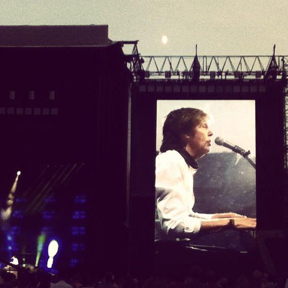 Sir Paul McCartney in Missoula Montana last night!! AMAZNG!!!