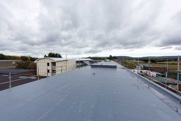 A North Yorkshire school has built its motto 'Being the Best We Can Be' into the fabric of its school campus following a roof refurbishment involving two of its buildings, using Sika Liquid Plastics' Decothane Ultra 20 year system.