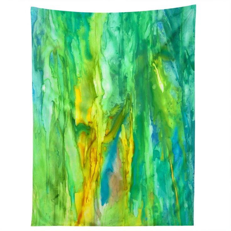 Rosie Brown Watercolor Cascade Tapestry | DENY Designs Home Accessories