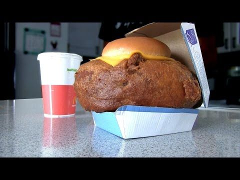 World's Largest Filet-O-Fish – Deep Fried 8 Times [Video] - Here's a heart stopper for you! The world's largest (possibly) Filet-O-Fish is deep fried 8 times and is definitely big enough to feed two people.