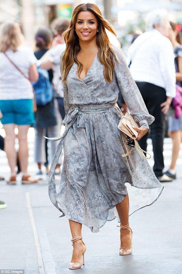 Eva Longoria looking good in NYC   Buy ➜ http://j.mp/2vn5cVq