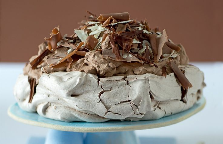 Pavlova al cioccolato ricetta
