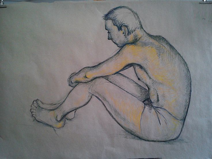 #Drawing study of body