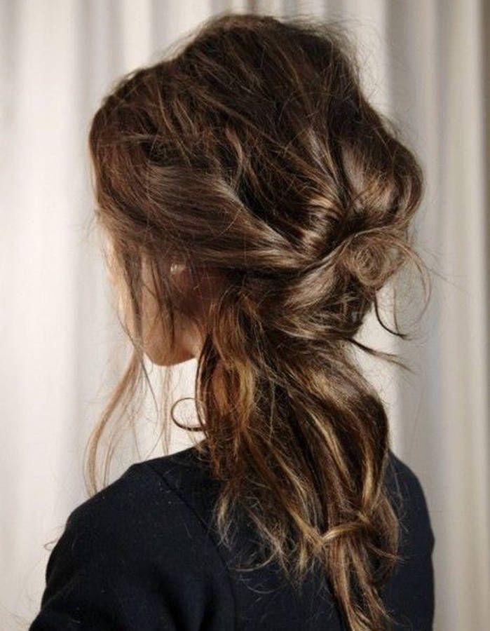 Coiffure romantique floue - 20 coiffures romantiques pas si cucul ! - Elle