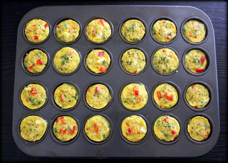 Quinoa, Egg & Veggie Breakfast BitesEating Well, Veggies Breakfast, Breakfast Muffins, Fine Chops, Bell Peppers, Breakfast Bites, Quinoa Veggies, Breakfastbit Healthyeating, Veggies Muffins