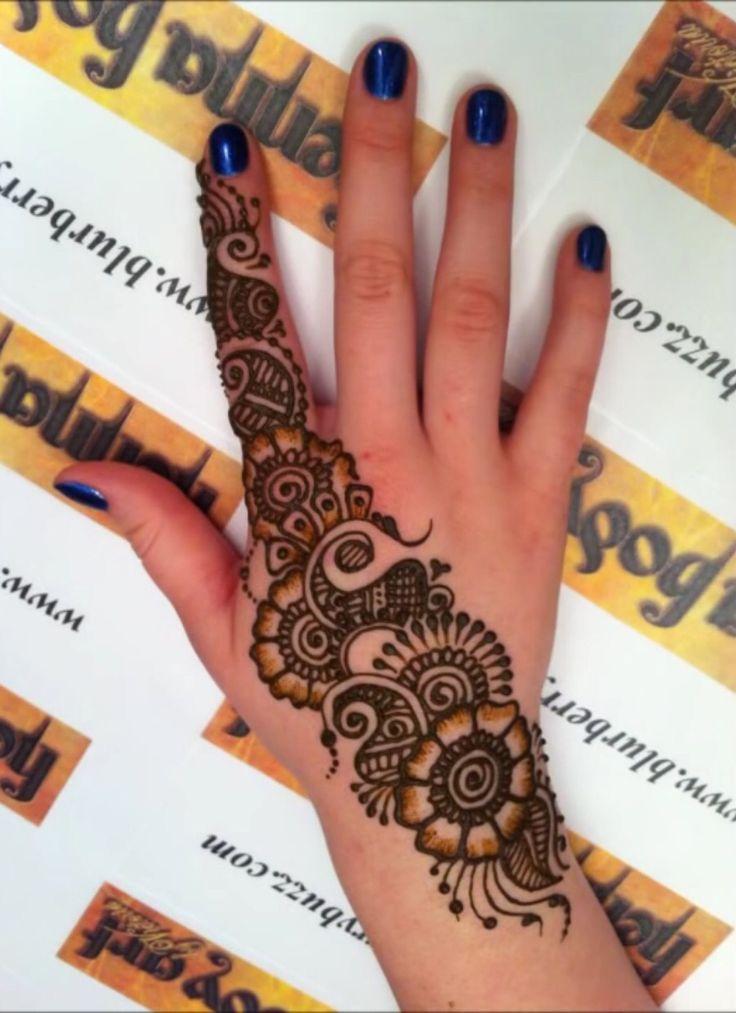 Mehndi Fingers Review : Diy latest finger mehndi designs